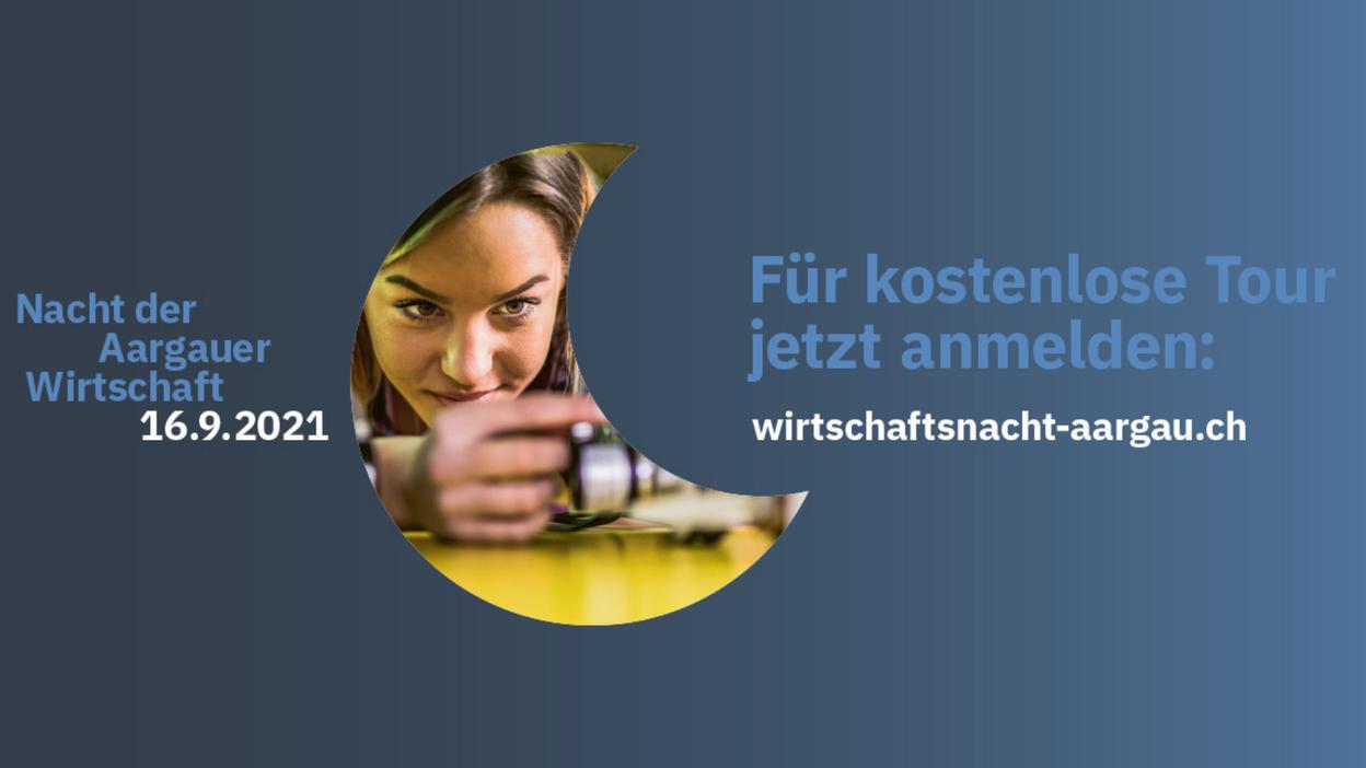 """""""Nacht der Aargauer Wirtschaft"""" - jetzt kostenloses Ticket buchen!"""
