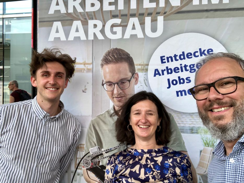 Das Work Life Aargau Team freut sich, dir zum 1. Geburtstag die neue Startseite zu präsentieren. Viel Spass beim Entdecken!