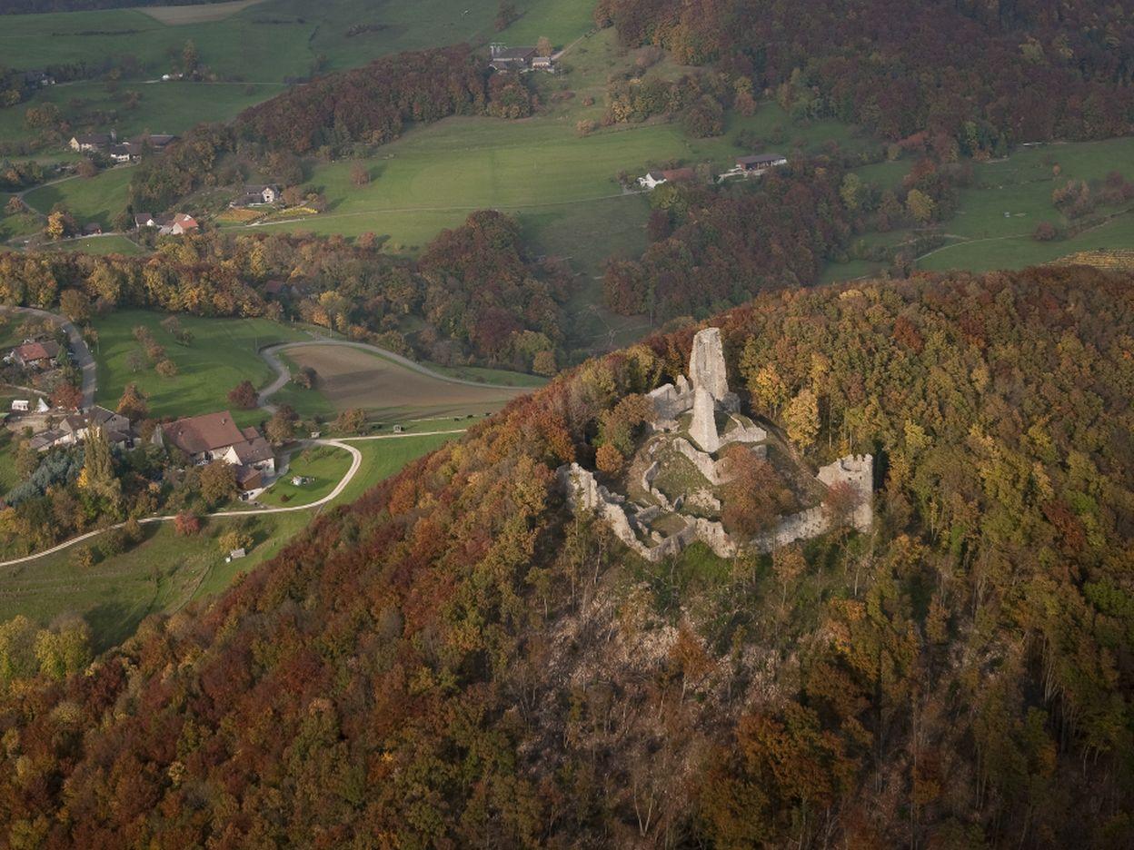 The Schenkenberg Ruins in Thalheim