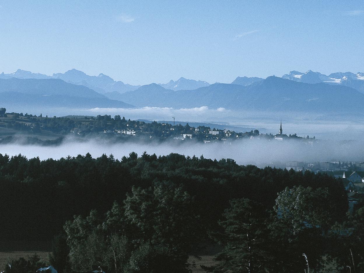 Wandern über dem Nebelmeer