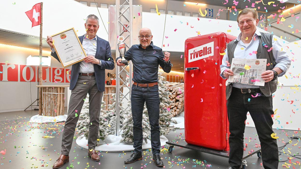Rivella zum besten Arbeitgeber 2021 der Schweiz gewählt